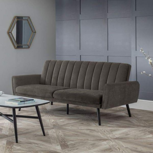 afina-grey-sofabed-roomset-grey-velvet-vertical-rows-easy-to-use